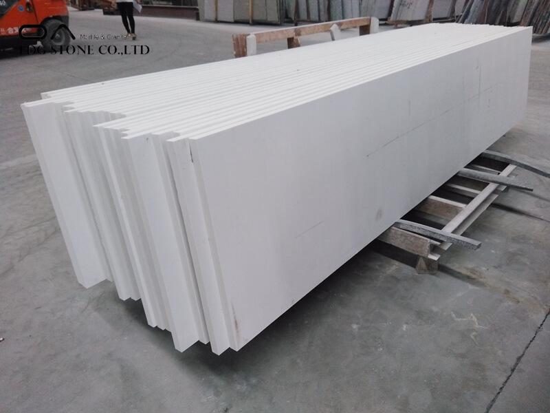 solid white quartz countertops