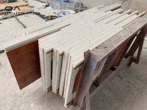 super white quartz countertops