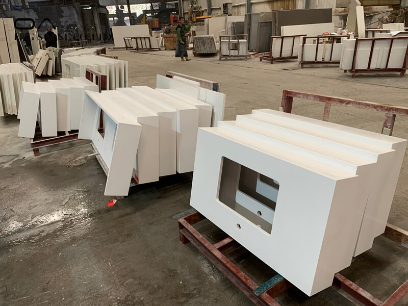 white quartz countertops price