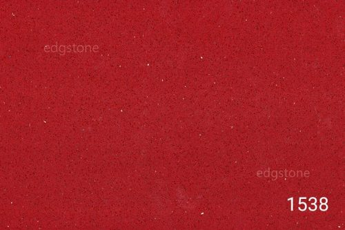 Pure Red Color Quartz 1538