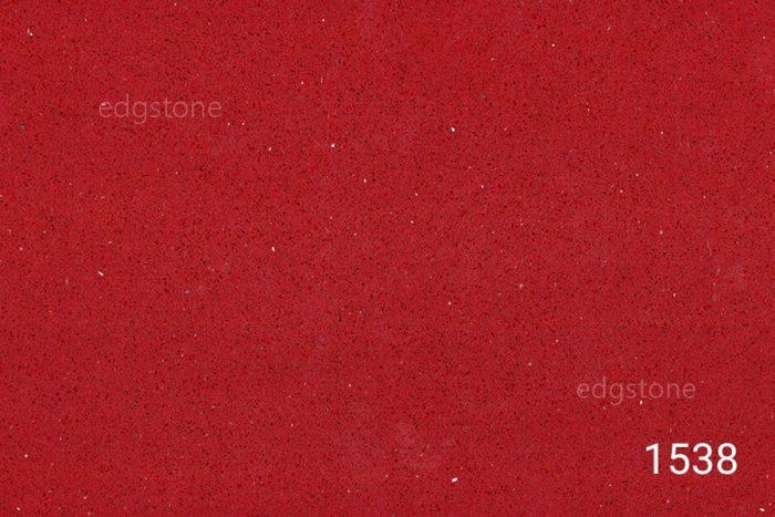 Pure Red Color Quartz 1538