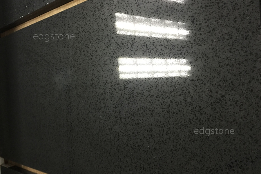Single Black Color Quartz EDG4016