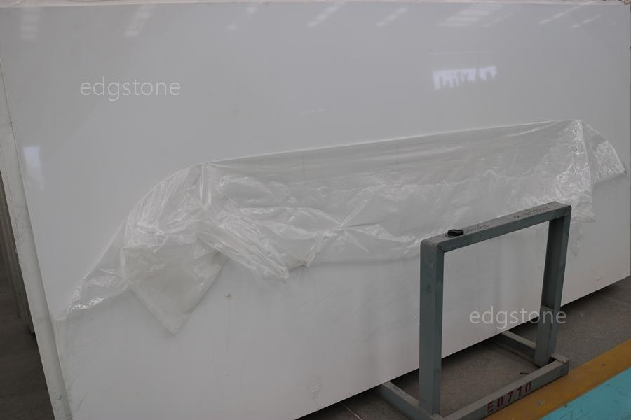 Single White Color Quartz EDG9001