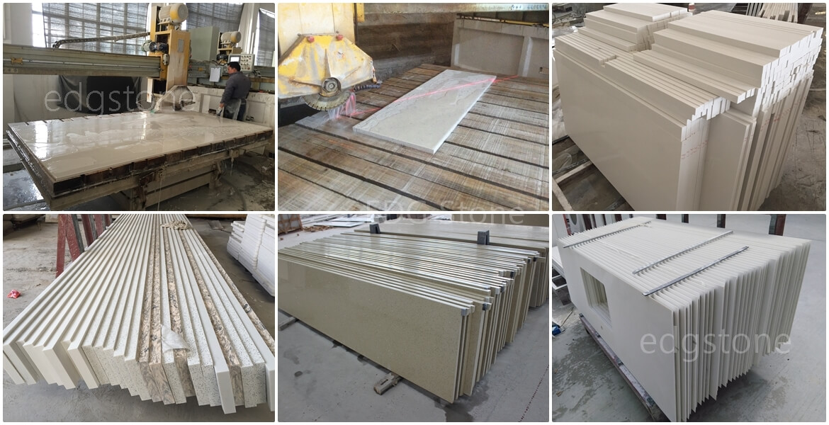 Quartz Big Slabs Cut To Sizes