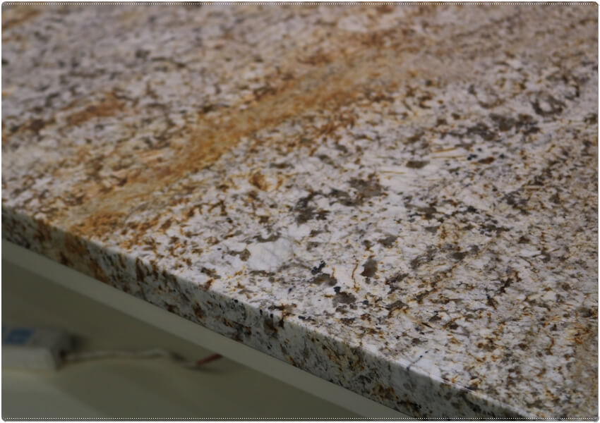 White Persa Granite Kitchen Countertops