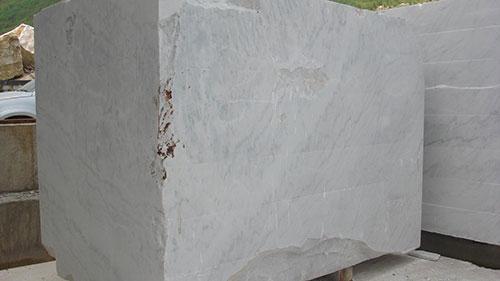 natural grey marble blocks