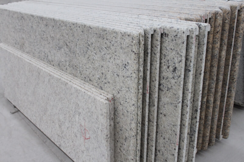 white granite countertops