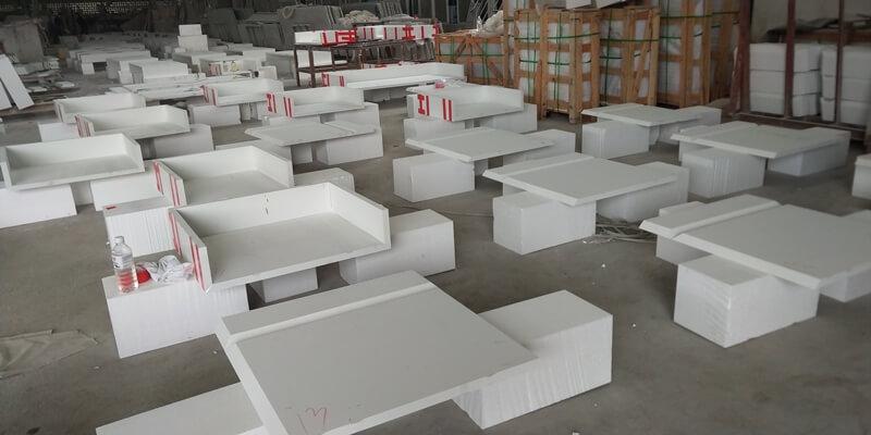 quartz countertop installation