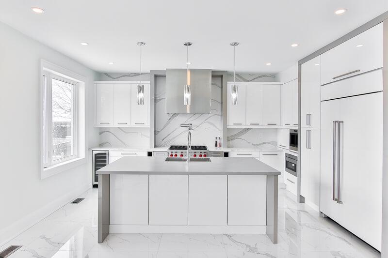 white and gray quartz