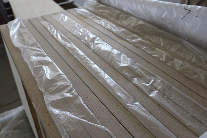 beige quartz countertops