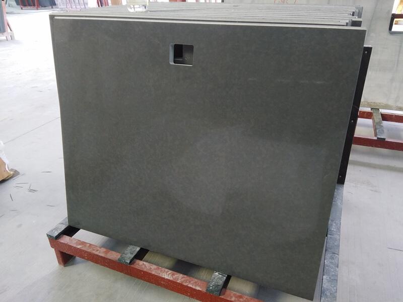 grey sparkle quartz countertops