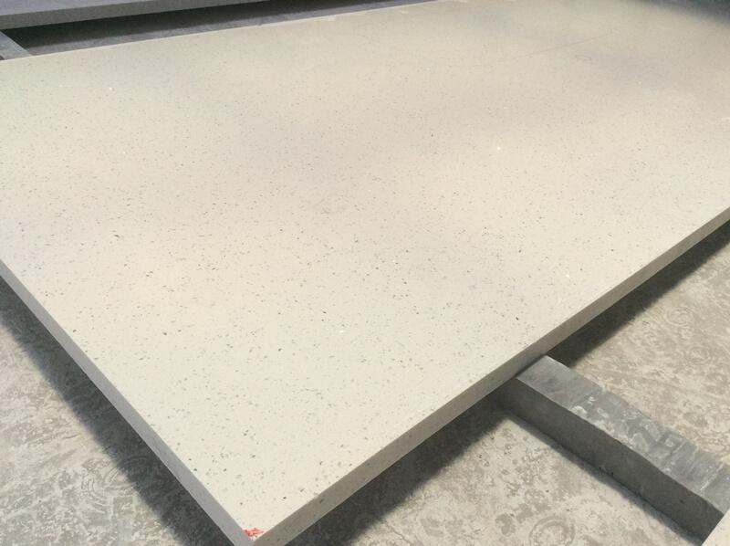 iced white quartz countertops