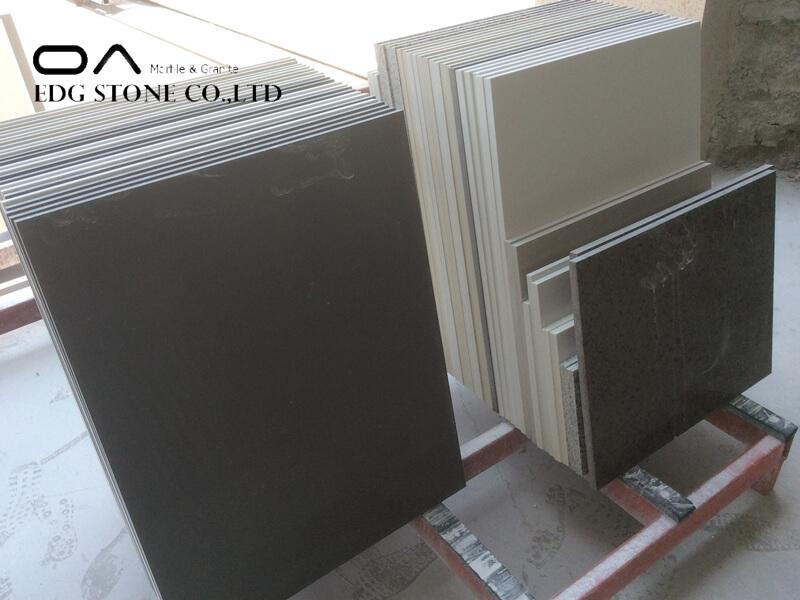 dark quartz countertops