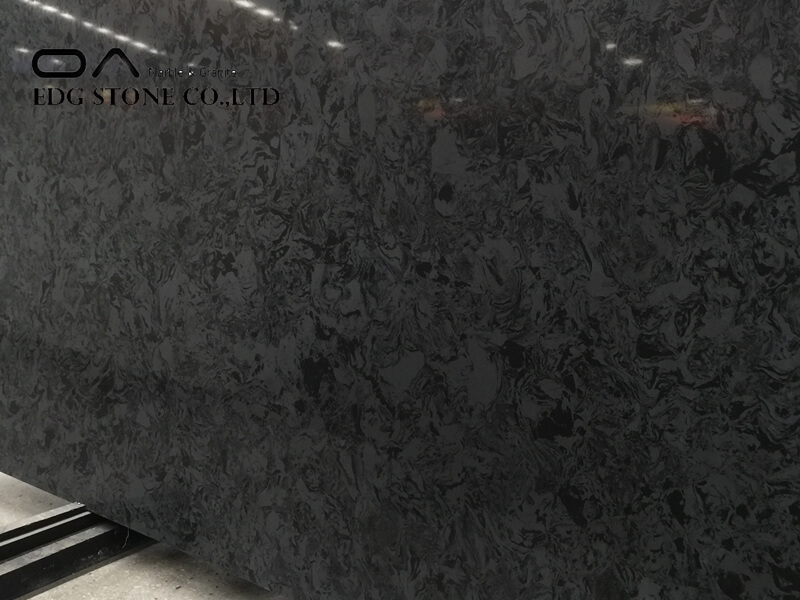 EDG3002 black quartz slabs