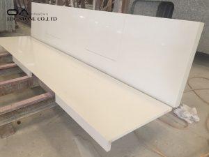 howdens quartzstone white