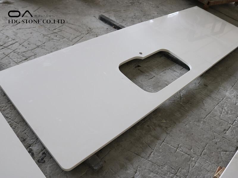 quartz island countertop