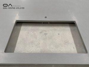 slate grey quartz countertop