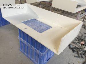 types of white quartz countertops