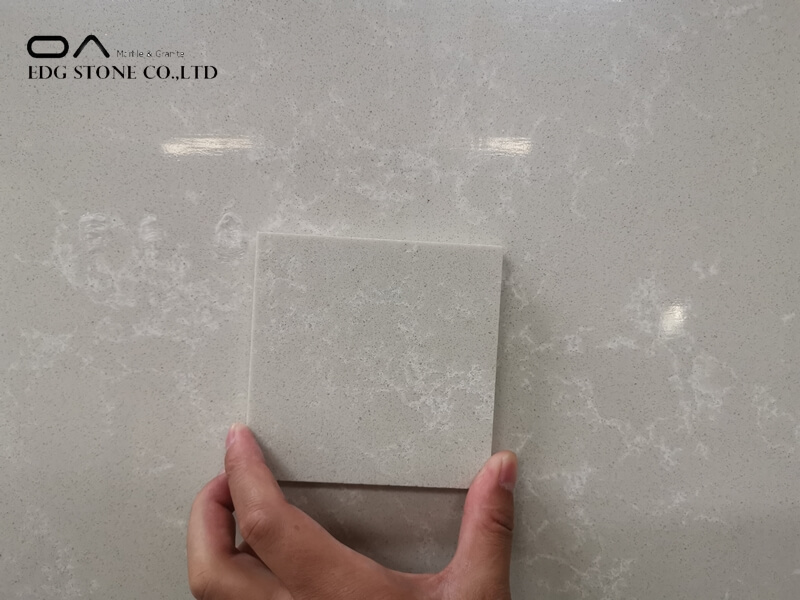 white quartz grey vein