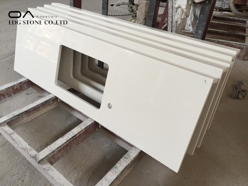white galaxy quartz countertops