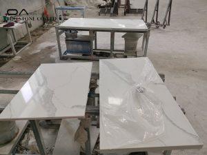 white gold quartz countertops