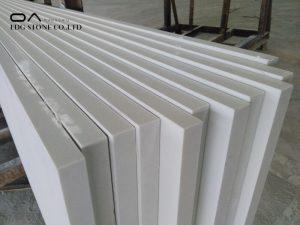 white terrazzo quartz countertop
