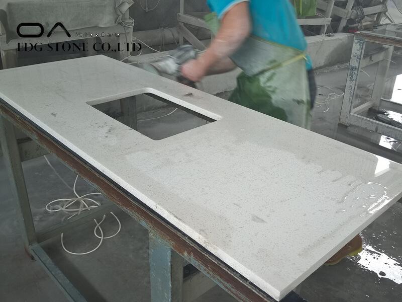 pulsar quartz countertop