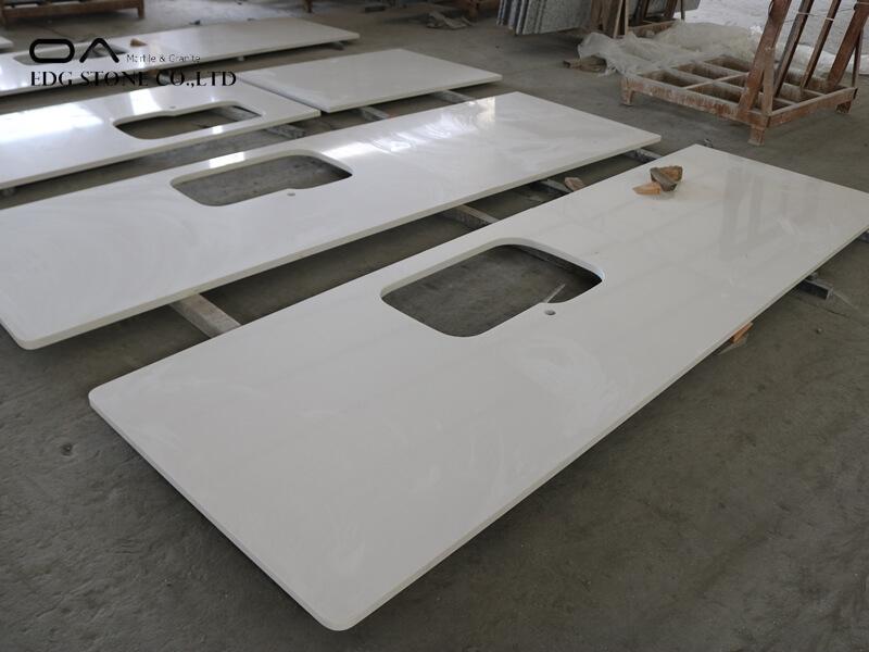 replacing tile countertop with quartz