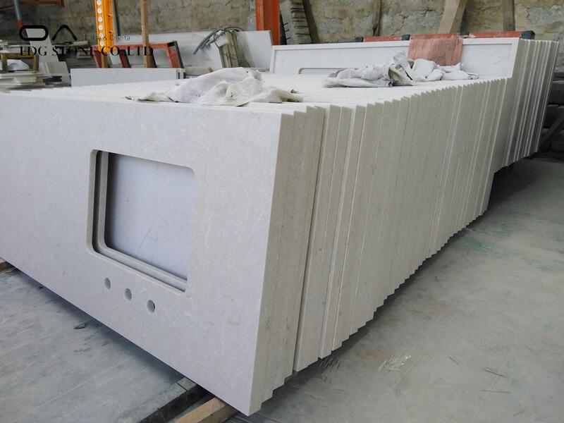 taupe quartz countertops