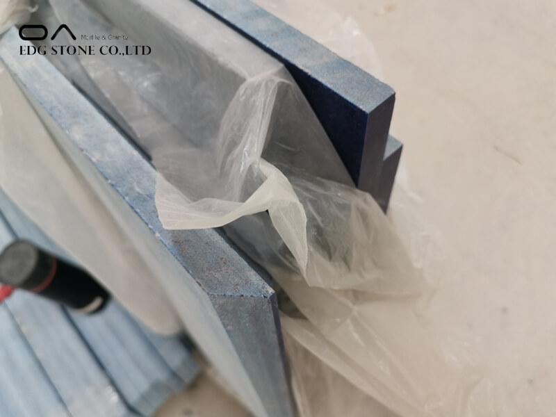 cobalt blue quartz countertops