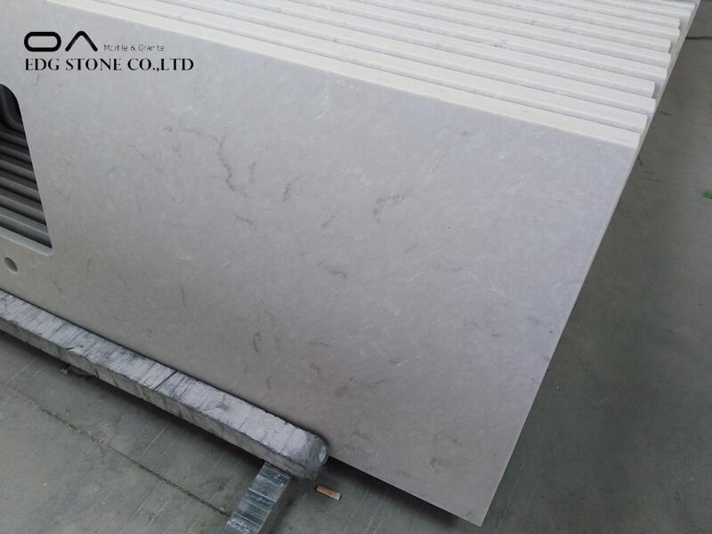 oyster quartz countertop