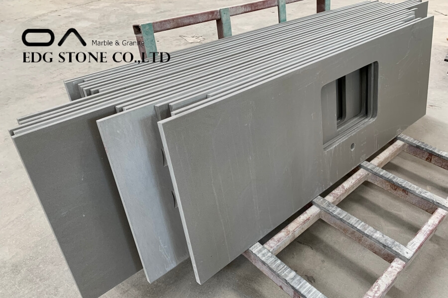 gray countertops quartz
