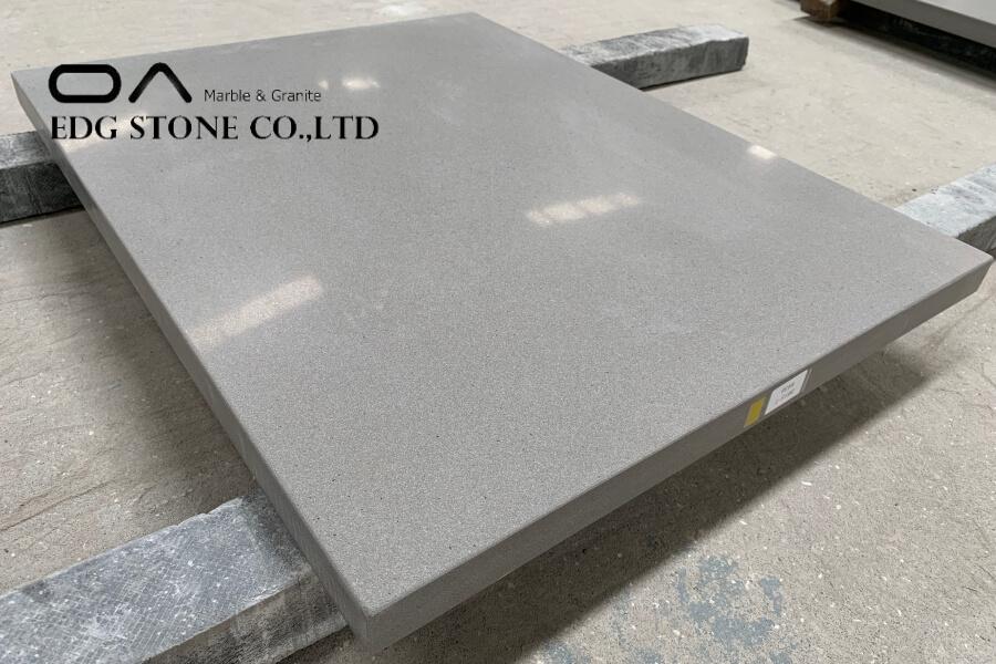 gray quartz countertops kitchen