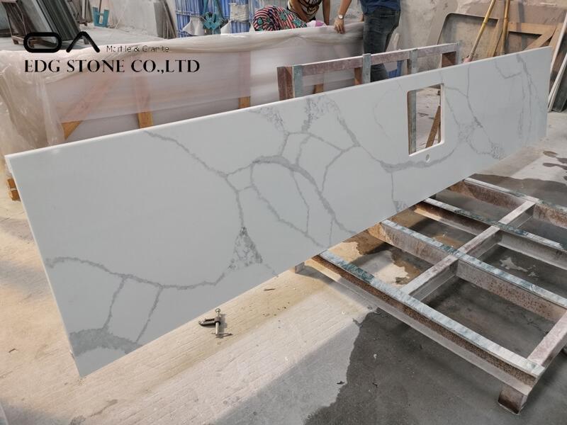 quartz calacatta countertops