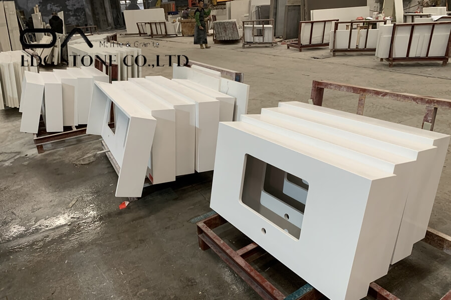 quartz countertop fabrication