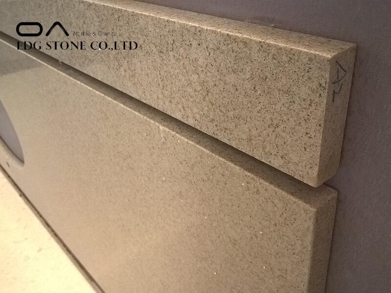 quartz countertops with sparkle