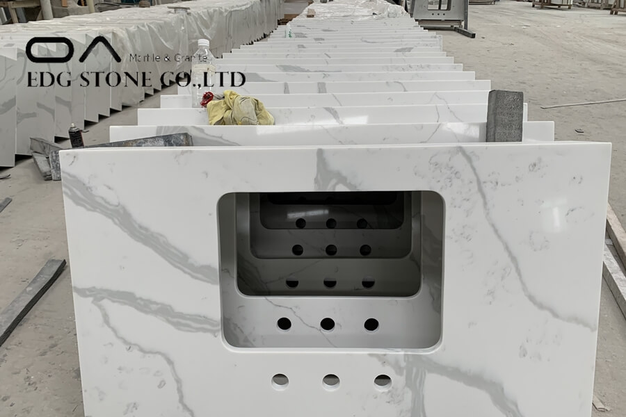 calacatta oro quartz countertop