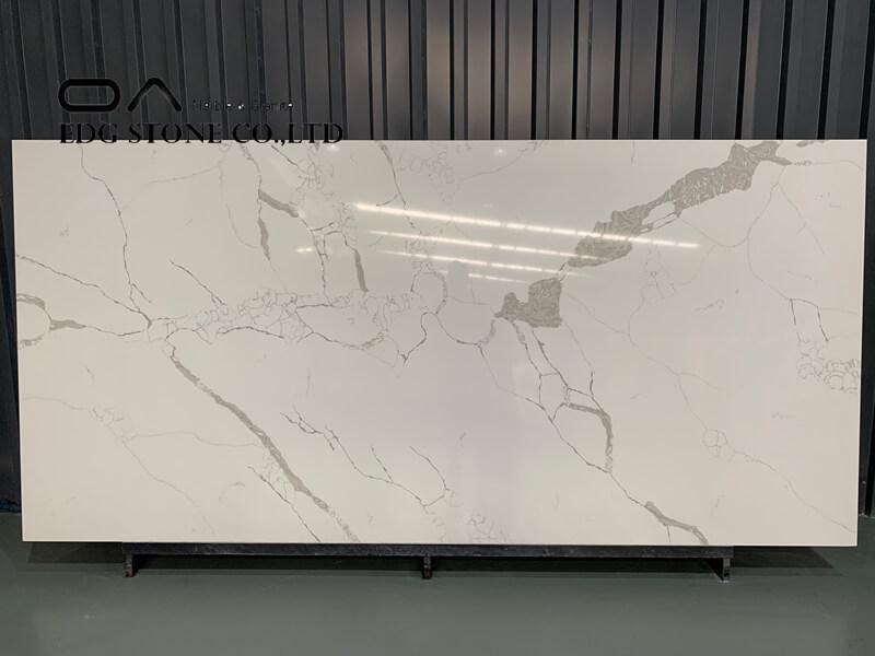 white stone slab