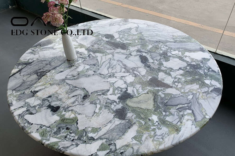 natural blue marble table tops