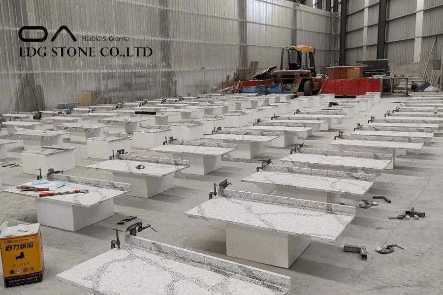 concrete look quartz
